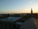 Vue depuis le toit de la Catho. Lille